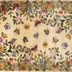 Funk'N Beauty & Nature with Butterfly Area Rugs