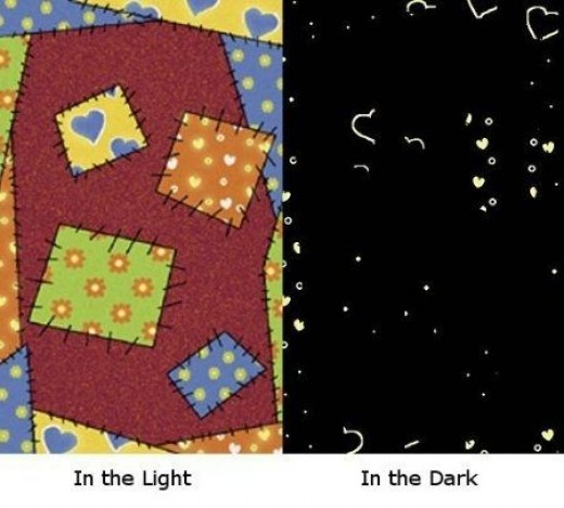 Patches Glow in the Dark Rug