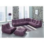 Purple Sectional Sofa Furniture