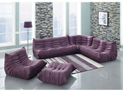 Funk and Soothing Beauty with Purple Sectional Sofa Furniture!
