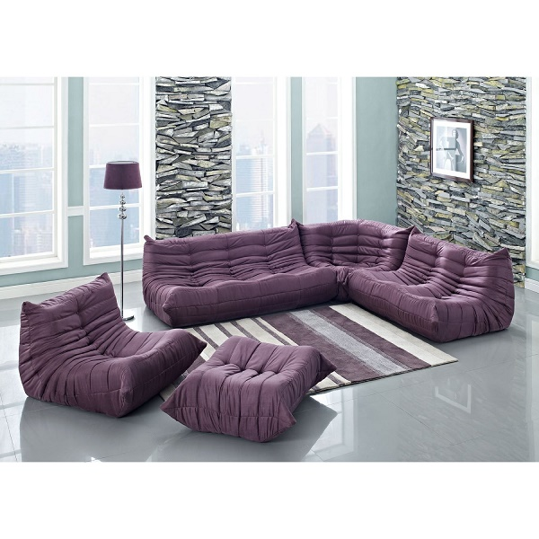 Purple Sectional Sofa Furniture Here You Ll Love Funk This House