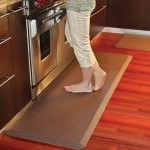 Reducing Standing Stress with Anti-Fatigue Kitchen Mats