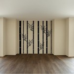 Flowering Bamboo Wall Decal