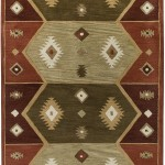 Hopi Red Southwest Area Rug
