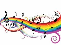 Funky Rainbow Wall Decals