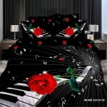Stunning Funk with Piano Bedding Sets