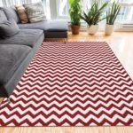 Funky Red Area Rugs for Rooms Needing Passion and Energy!