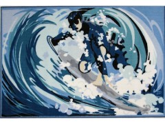 Surfing Themed Rugs and Mats