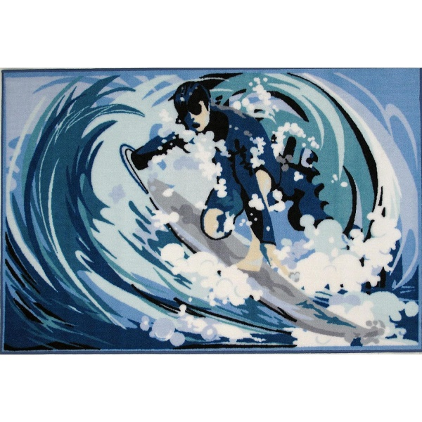 Surfing Themed Rugs 6 Creative Designs To Choose From
