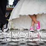 Funk'N Congrats with Wedding Floor Decals