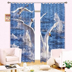 3D Light Blocking Curtains