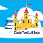 Funk it Up with a Castle Tent Loft Bed