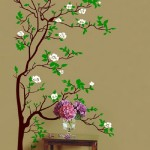 Funk'N Beauty with Cherry Blossom Tree Graphics