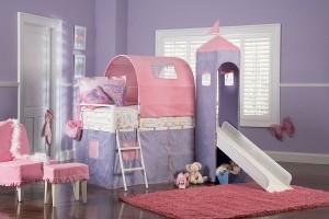 Powell Princess Loft Bed