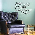 Wall Quotes about Faith