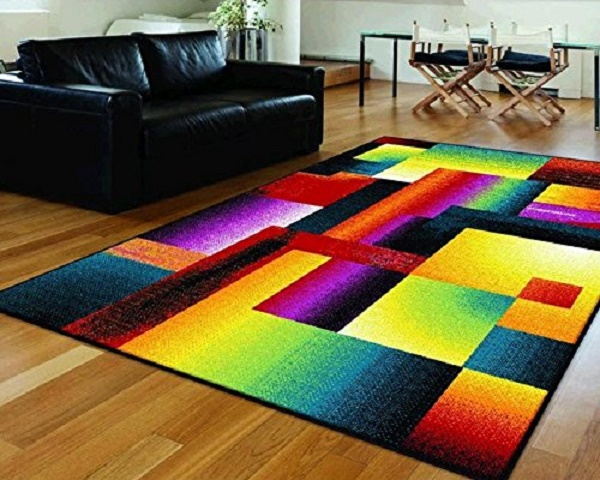 multi colored area rug funk this house funk this house. Black Bedroom Furniture Sets. Home Design Ideas