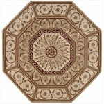 Funky Shapes with Octagon Area Rugs