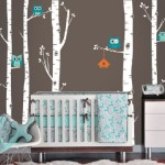 Owl and Tree Wall Decals