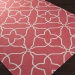 Funky Pink Patterned Area Rugs