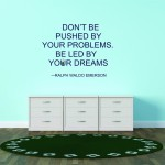 Inspiring Funk with Ralph Waldo Emerson Wall Quotes