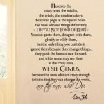 Steve Jobs Wall Quotes