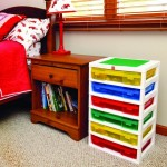 Narrow Storage Drawers