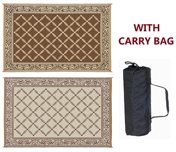 Funk N Practicality With Reversible Patio Mats Funk This