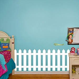 Picket Fence Wall Decal