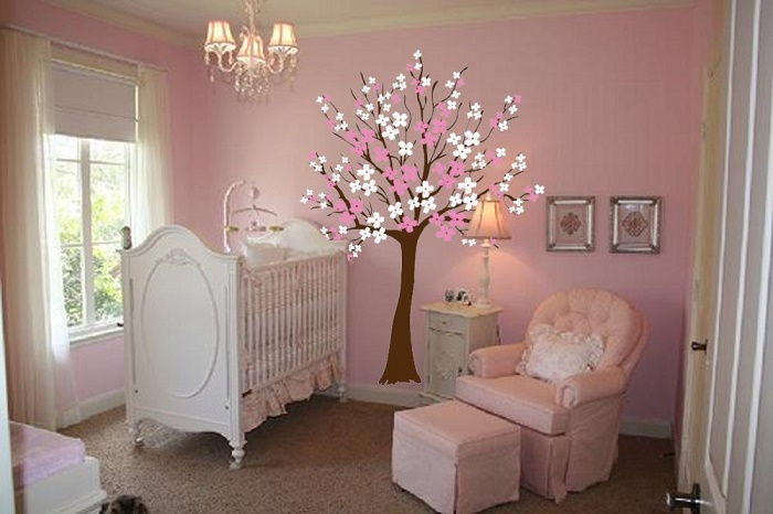 Large Wall Tree Stickers for Nursery