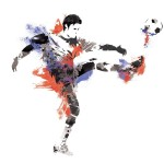 Funky Soccer Wall Decals