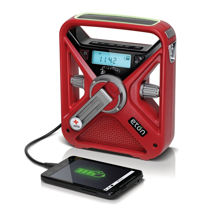 American Red Cross Hand Crank Radio