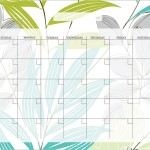 Calendar Wall Decals