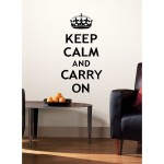 Saucy Funk with Keep Calm Wall Decals