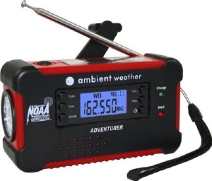 Solar Powered Emergency Radio