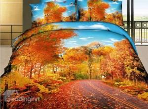 Autumn Themed Bedding