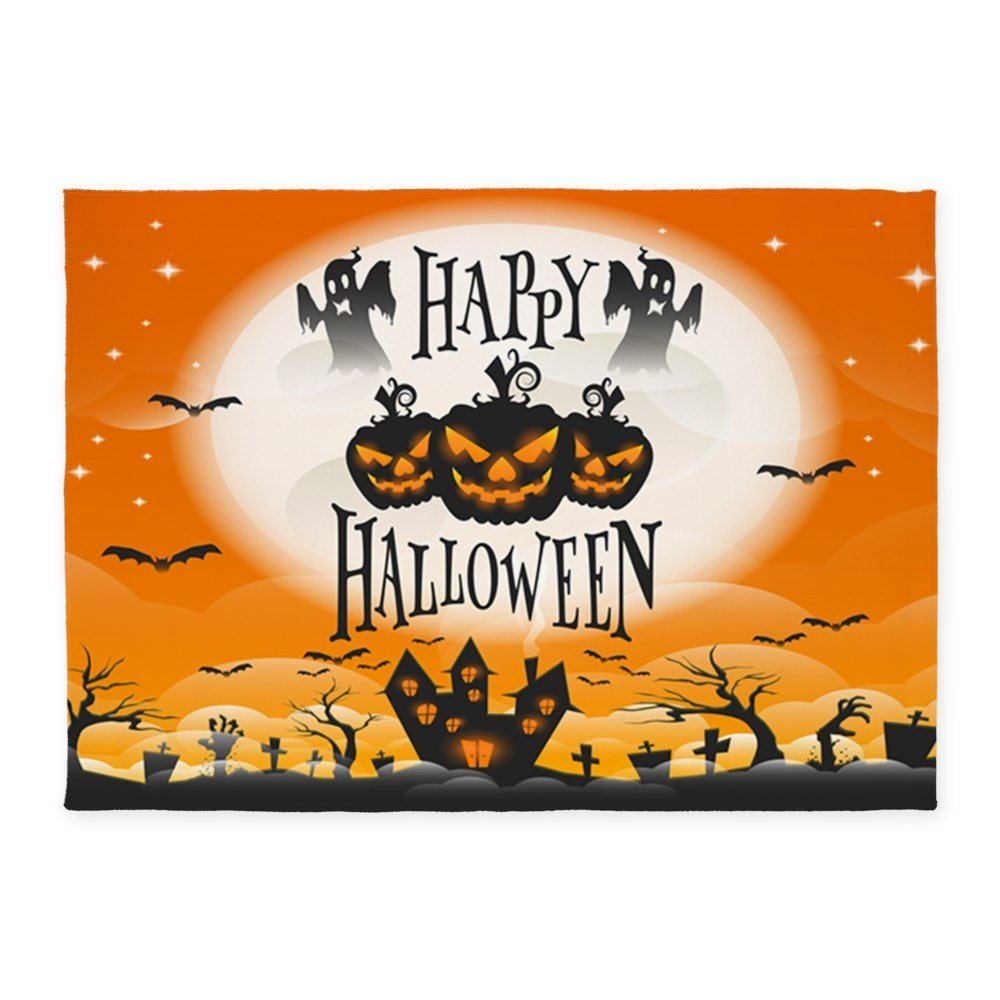 Funku0027N Cute U0026 Scary Halloween Area Rugs