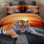 Funk'N Stunning 3D Tiger Bedding