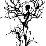 Funk'N Spookiness with Halloween Tree Wall Art