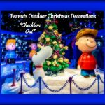 Peanuts Outdoor Christmas Decorations