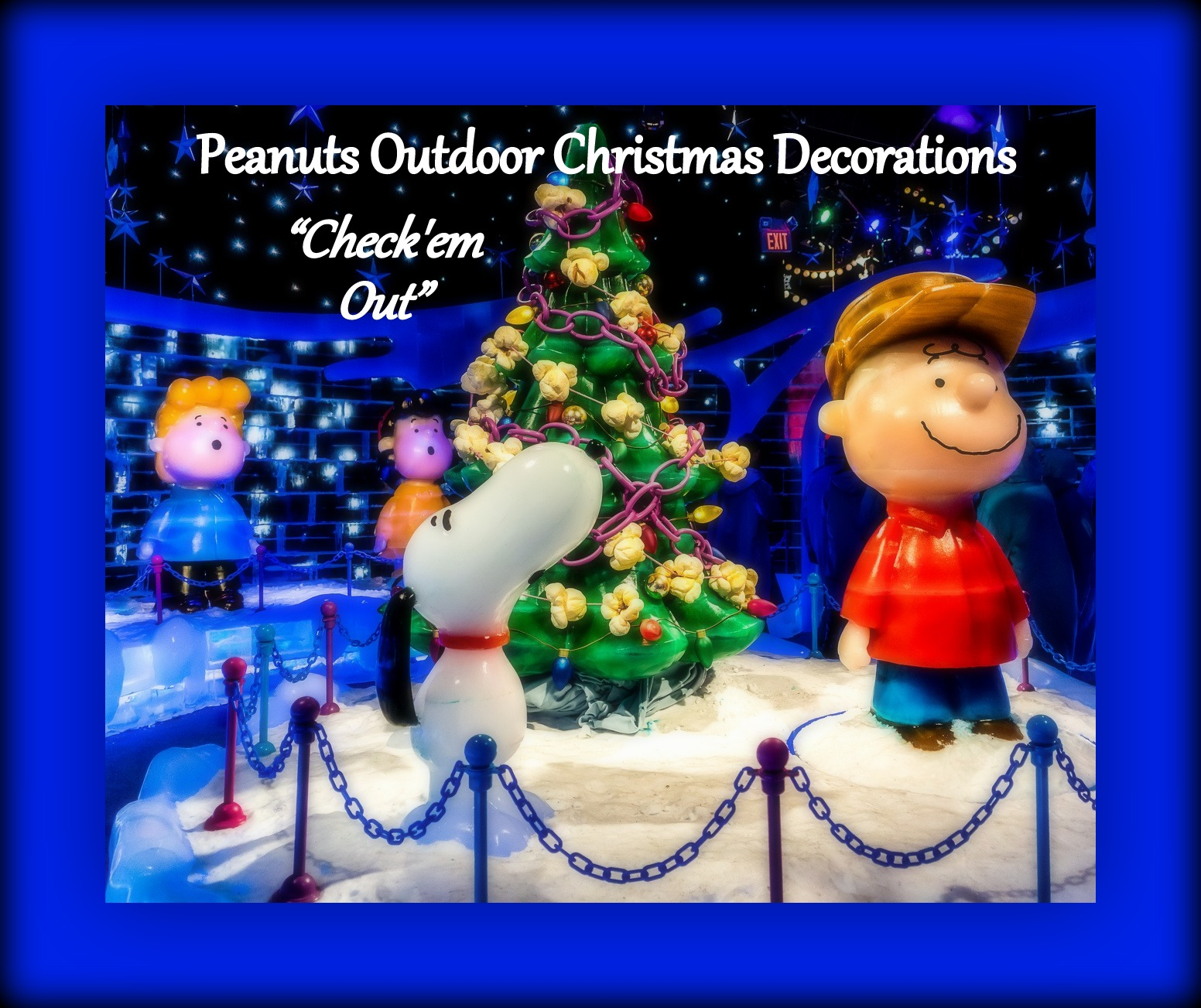 Snoopy outdoor christmas decorations - Snoopy Outdoor Christmas Decorations 43