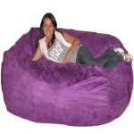 Funky Purple Bean Bag Chairs