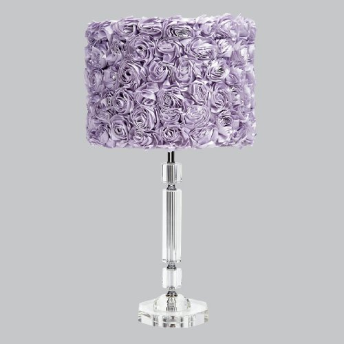 Decorating with Funky Purple Lamps