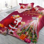 Ho Ho Ho this Outstanding Santa Claus Bedding is Perfect for the Holidays!