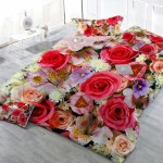 Covered in a Rose Garden Bedding Set