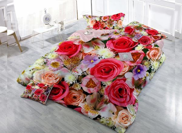 Rose Garden Bedding Set