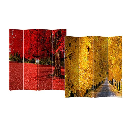 Double Sided Fall Room Divider