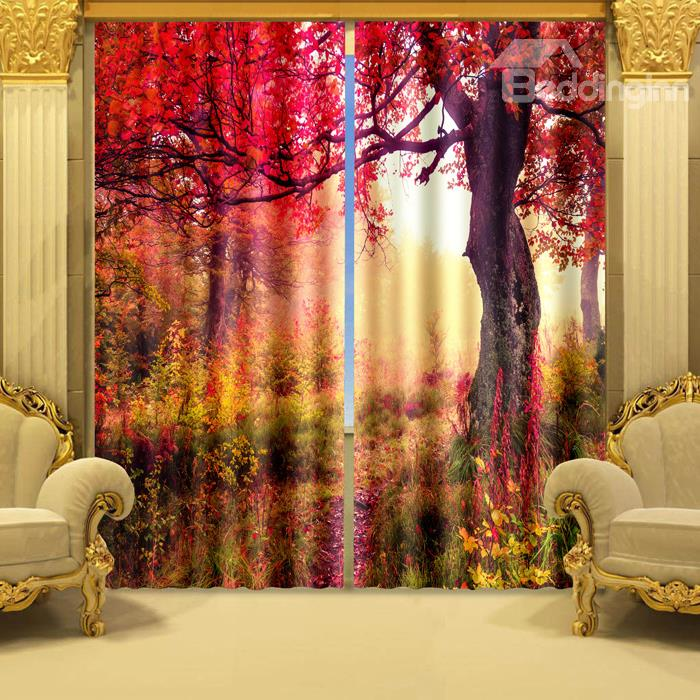 Fall Color Drapes To Spruce Up Your Room For Autumn
