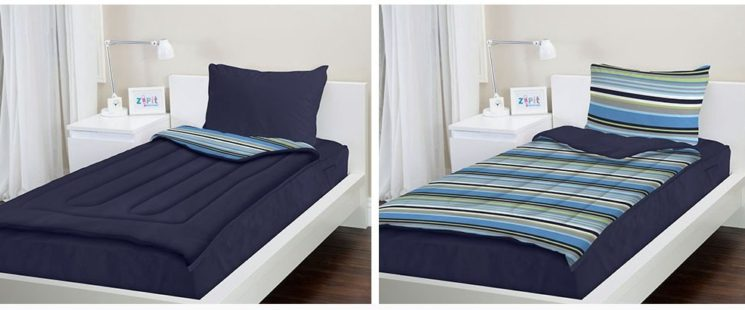 Zip Up Bedding – The Funky Make-Your-Bed Solution!