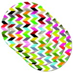 Funky Optical Illusion Plates