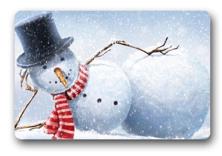 Funny Christmas Door Mat